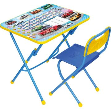 Комплект детской мебели Ника Детям Большие гонки КПУ1
