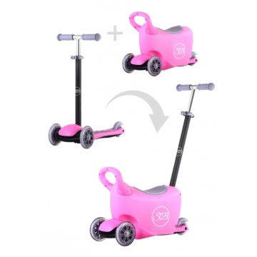 Самокат Sweet Baby Triplex 6 в 1 (розовый)