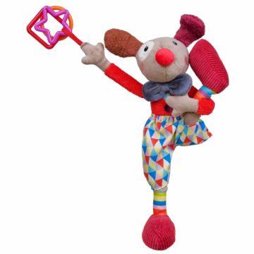 "Мягкая игрушка Ebulobo ""Клоун Альфред"""
