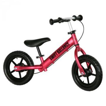 Беговел FunKids Swift Ballance облегченный с ПВХ колесами (красный)