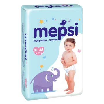 Подгузники-трусики Mepsi XL (12-22 кг) 38 шт.