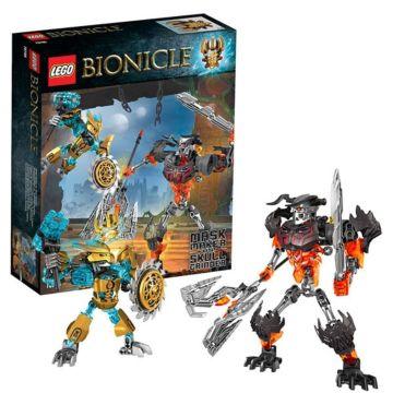 Конструктор Lego Bionicle 70795 Создатель Масок против Стального Черепа