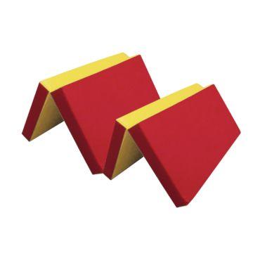 Гимнастический мат Kampfer №7 200х100см (красный)