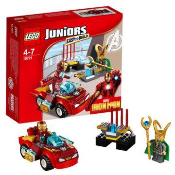 Конструктор Lego Juniors 10721 Железный человек против Локи