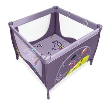 Манеж Baby Design Play Up (фиолетовый)