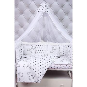 Комплект постельного белья AmaroBaby Home Elite (19 предметов, поплин/бязь)