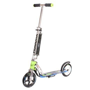 Самокат Hudora Big Wheel 205 (серый) ДИСКОНТ