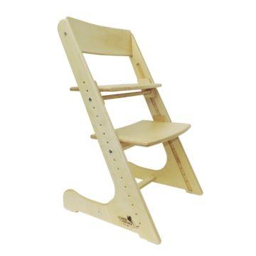 Растущий стул Конёк Горбунёк с лакокрасочным покрытием (береза) ДИСКОНТ