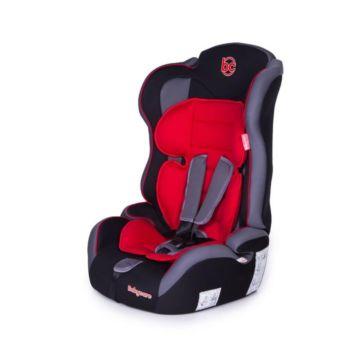 Автокресло Baby Care Upiter Plus (черно-красное)