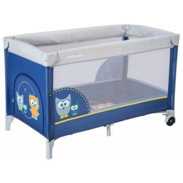 Манеж-кровать BabyMix Sowa Navy