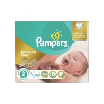 Подгузники Pampers Premium Care New Baby (3-6 кг) 148 шт