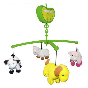 Музыкальный мобиль Biba Toys Счастливая ферма