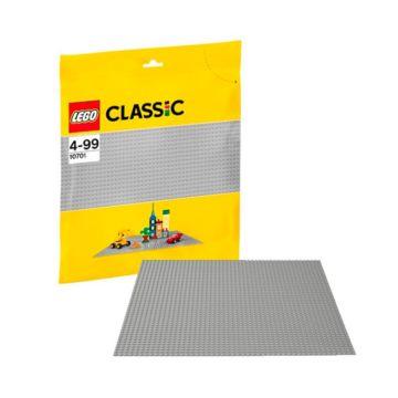 Конструктор Lego Classic 10701 Строительная пластина серого цвета