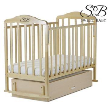 Кроватка детская Sweet Baby (поперечный мачятник) Gianni Betulla