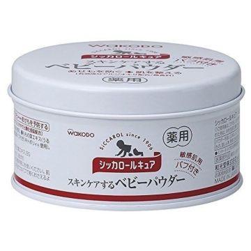 Присыпка Wakodo Siccarol для чувствительной кожи 140 гр.