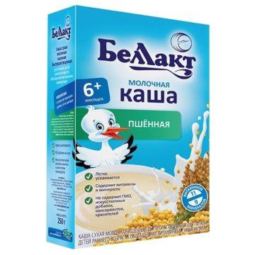 Каша сухая молочная пшенная Беллакт (с 6 мес.) 200 г
