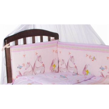 Бампер для кроватки Baby Care Оленята