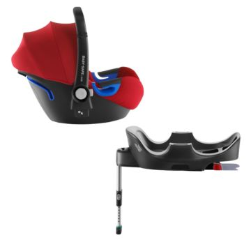 Автокресло Britax Romer Baby-Safe i-Size + Flex Base Flame Red