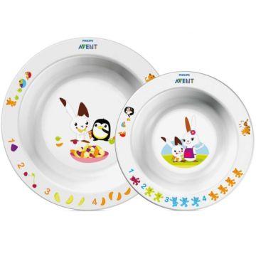 Детская тарелка Philips AVENT SCF708/00 (2 шт.)