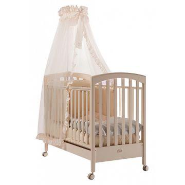 Кроватка детская Feretti Sauvage (колесо) (слоновая кость)