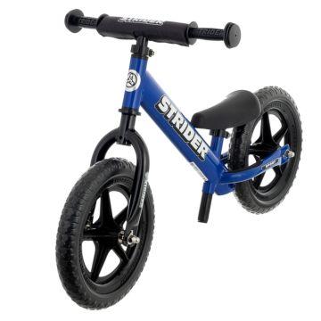 """Беговел Strider 12"""" Sport (с удлиненным штырем для седла в комплекте) (синий)"""