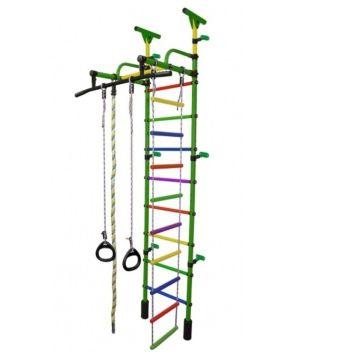 Детский спортивный комплекс Формула Здоровья Жирафик-1А Плюс Универсальный (зеленый)
