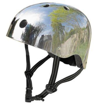 Шлем Micro (серебристый) XL