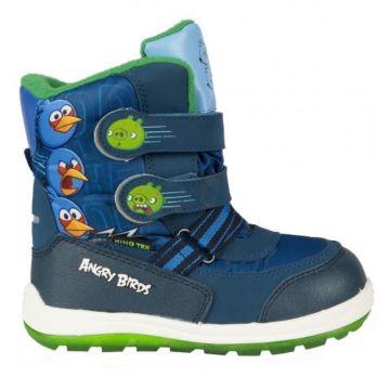 Сапоги детские Angry Birds 5770C для мальчиков (синие)