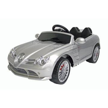 Электромобиль Akai Toys Mercedes-Benz SRL McLaren (серебристый)