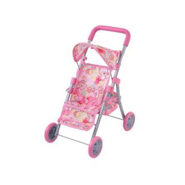 Коляска для куклы Fei Li Toys трость (розовая) FL8133
