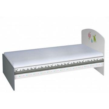 Кровать детская Polini Basic (Монстрики)