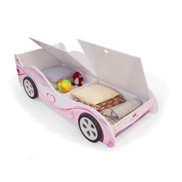 Кровать-машина с ящиками Мебель Мечты (принцесса)