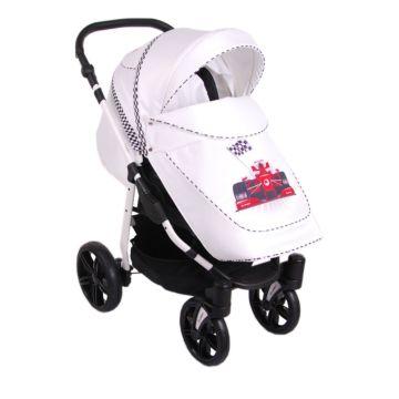 Коляска прогулочная Lonex Sport New (белая)