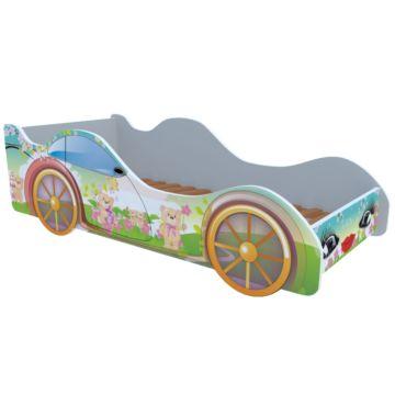 Кровать-машина Кроватка5 Машинки (Мишки)