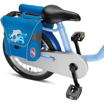 Двойная сумка на багажник Puky DT3 (blue/lightblue)