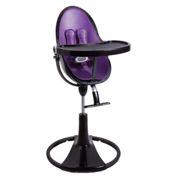 Стульчик Bloom Fresco Chrome Noir Provence Purple