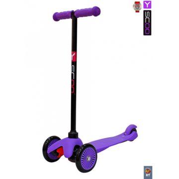 Самокат Y-Scoo Mini Simple A5 (фиолетовый) ДИСКОНТ