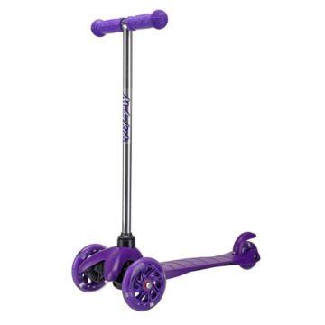 Самокат с управлением наклоном Moby Kids (Фиолетовый)