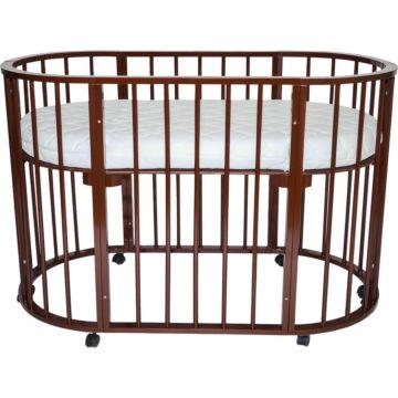 Кроватка-трансформер Valle Domenica 9 в 1 (шоколад)