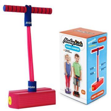 Тренажер для прыжков со звуком Moby Kids Moby Jumper (Розовый)