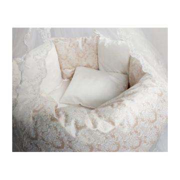Комплект постельного белья Incanto Эстель (6 предметов, сатин) (розовый)