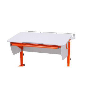Приставка на парты Астек ТВИН-2/МОНО-2 (белый/оранжевый)