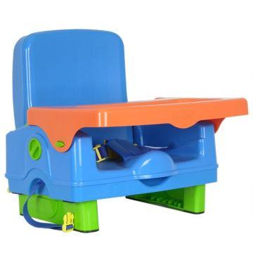 Стульчик для кормления Selby BH-410 (Сине-оранжевый)
