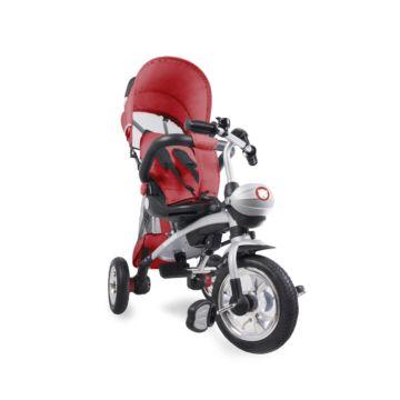 Трехколесный велосипед 2 в 1 Lionelo Tim Plus (Красный)