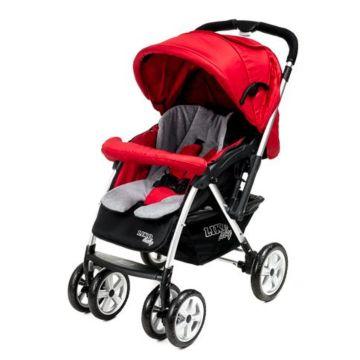 Коляска прогулочная Liko Baby AU-258 (красный)