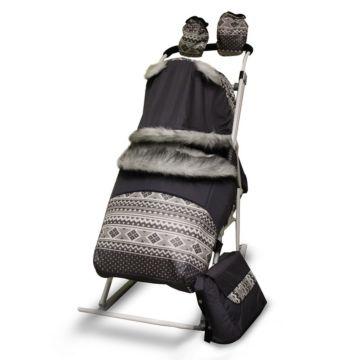 Санки-коляска Kristy Premium Plus 2УВ (2УМ)