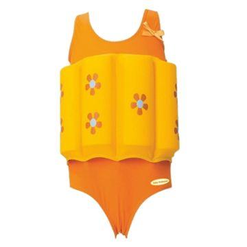 Детский купальный костюм Baby Swimmer для девочки (цветочек)