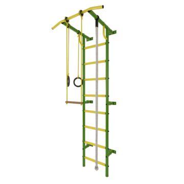Детский спортивный комплекс Лидер С-02 (зелено-желтый)