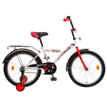 """Детский велосипед Novatrack Astra 20"""" (2016) белый"""