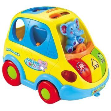 Развивающая игрушка Huile Веселый Автобус